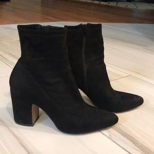 Steven by Steve Madden black ankle boots